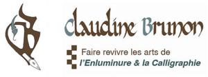 logo claudine brunon